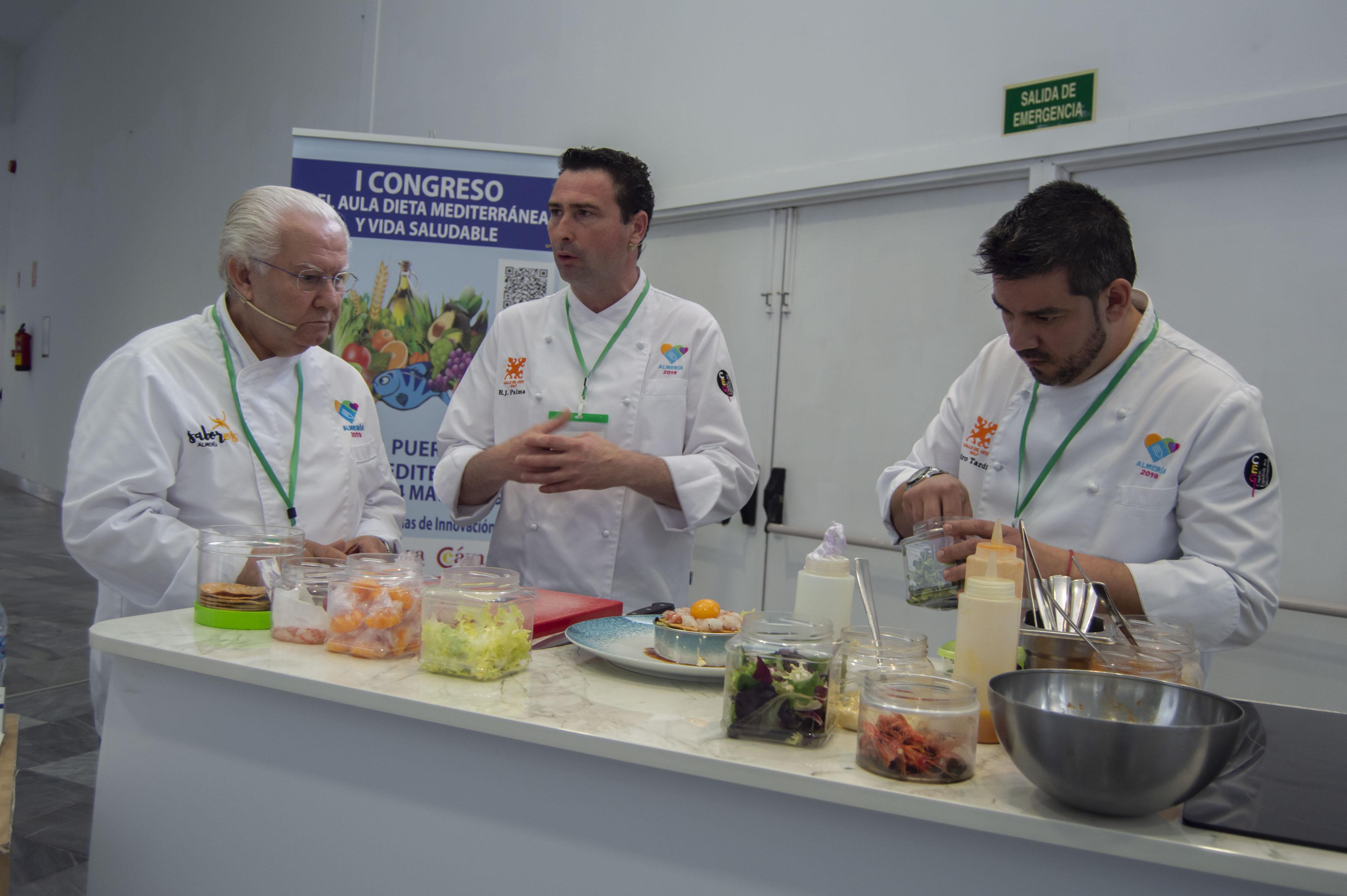 El Congreso de la Dieta Mediterránea pone en valor la gastronomía almeriense