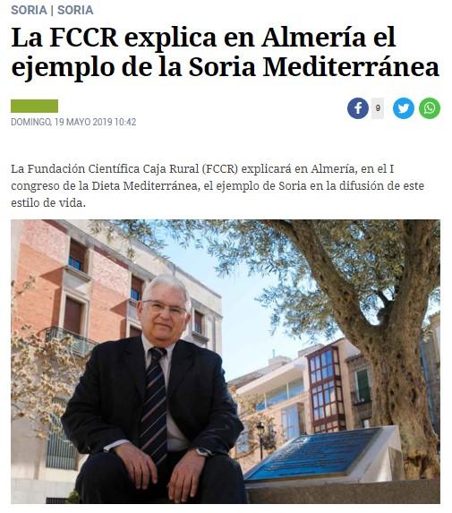 FCCR: Almería, ejemplo de la Soria Mediterránea